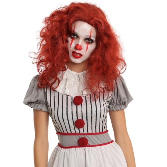 Hot Topic Dresses Pennywise Creepy Clown Costume Poshmark